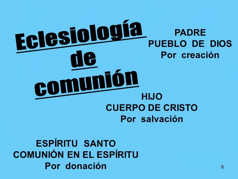 COMUNIÓN EN EL ESPÍRITU