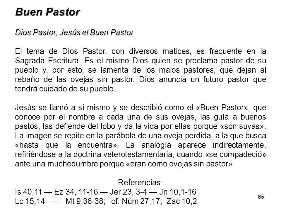 Buen Pastor Dios Pastor, Jesús el Buen Pastor