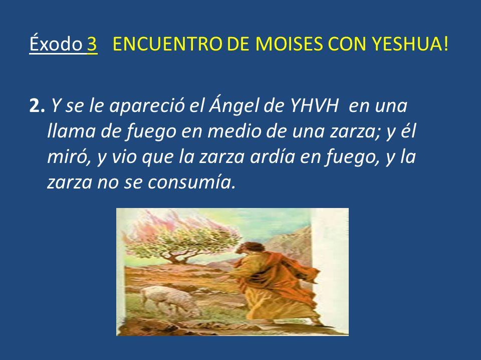 Éxodo 3 ENCUENTRO DE MOISES CON YESHUA. 2