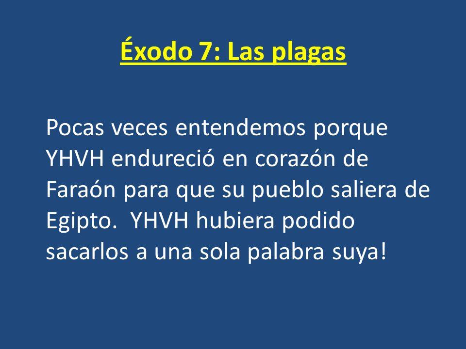 Éxodo 7: Las plagas
