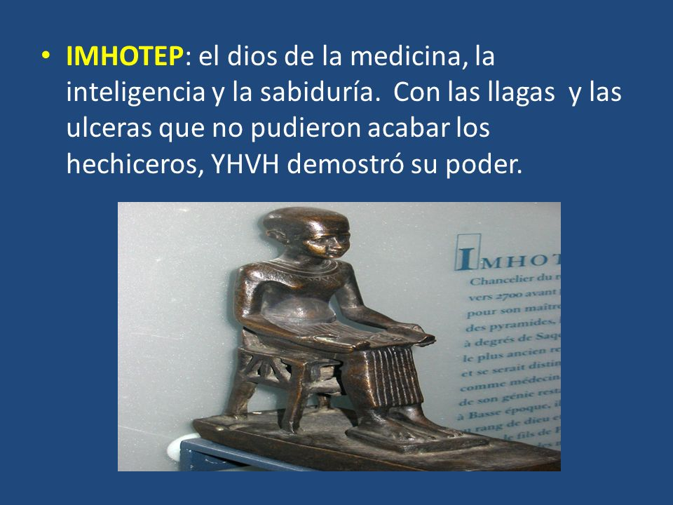 IMHOTEP: el dios de la medicina, la inteligencia y la sabiduría