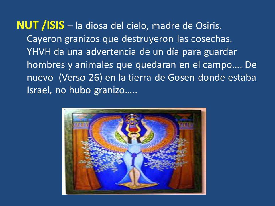 NUT /ISIS – la diosa del cielo, madre de Osiris