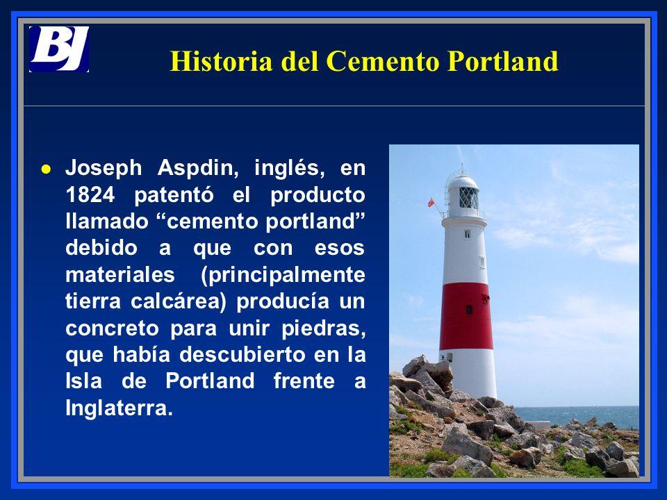 Historia del Cemento Portland