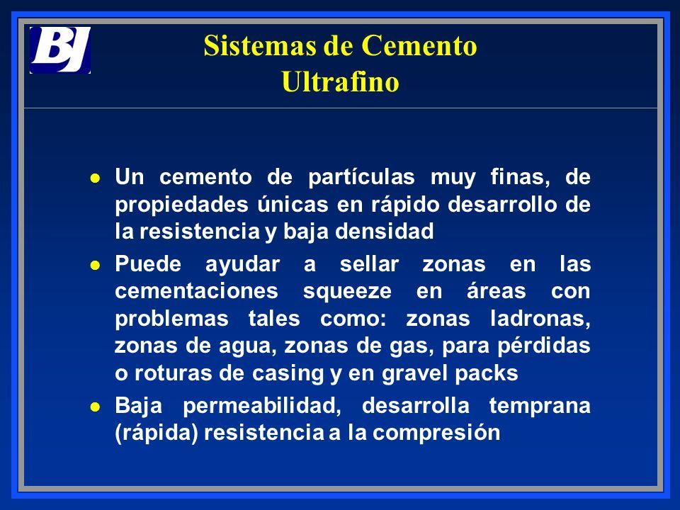 Sistemas de Cemento Ultrafino