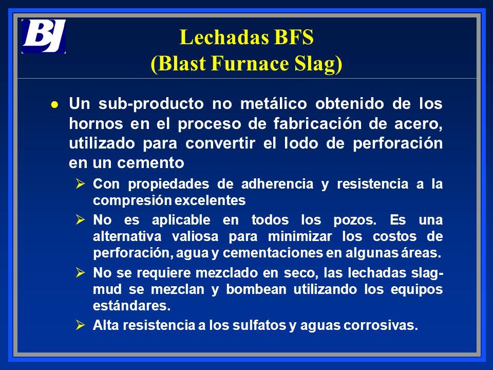 Lechadas BFS (Blast Furnace Slag)