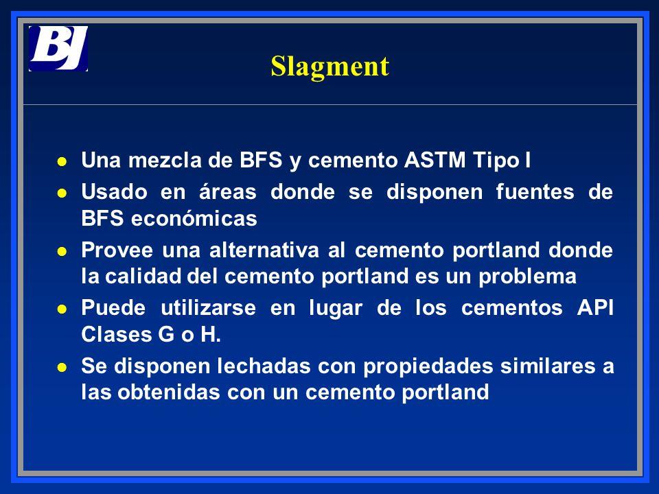 Slagment Una mezcla de BFS y cemento ASTM Tipo I
