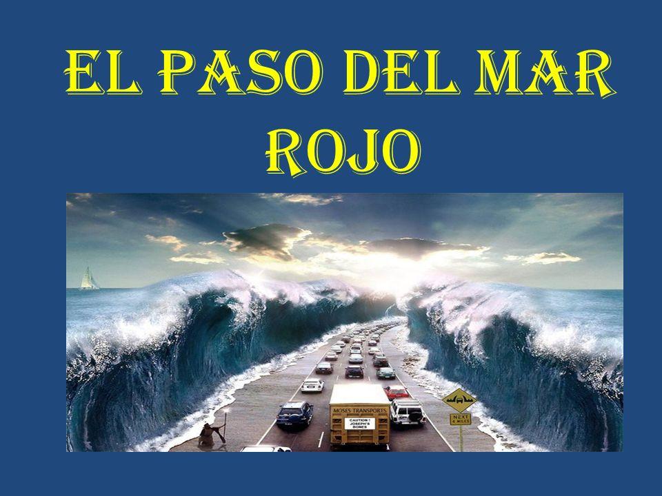 EL PASO DEL MAR ROJO