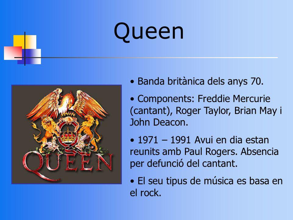 Queen Banda britànica dels anys 70.