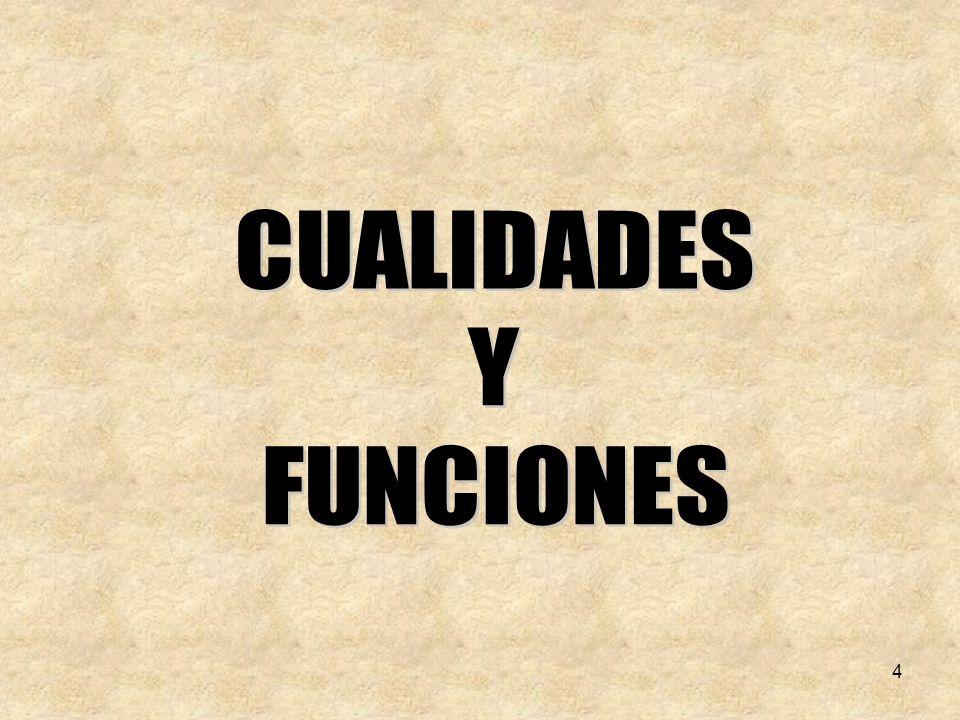 CUALIDADES Y FUNCIONES 4