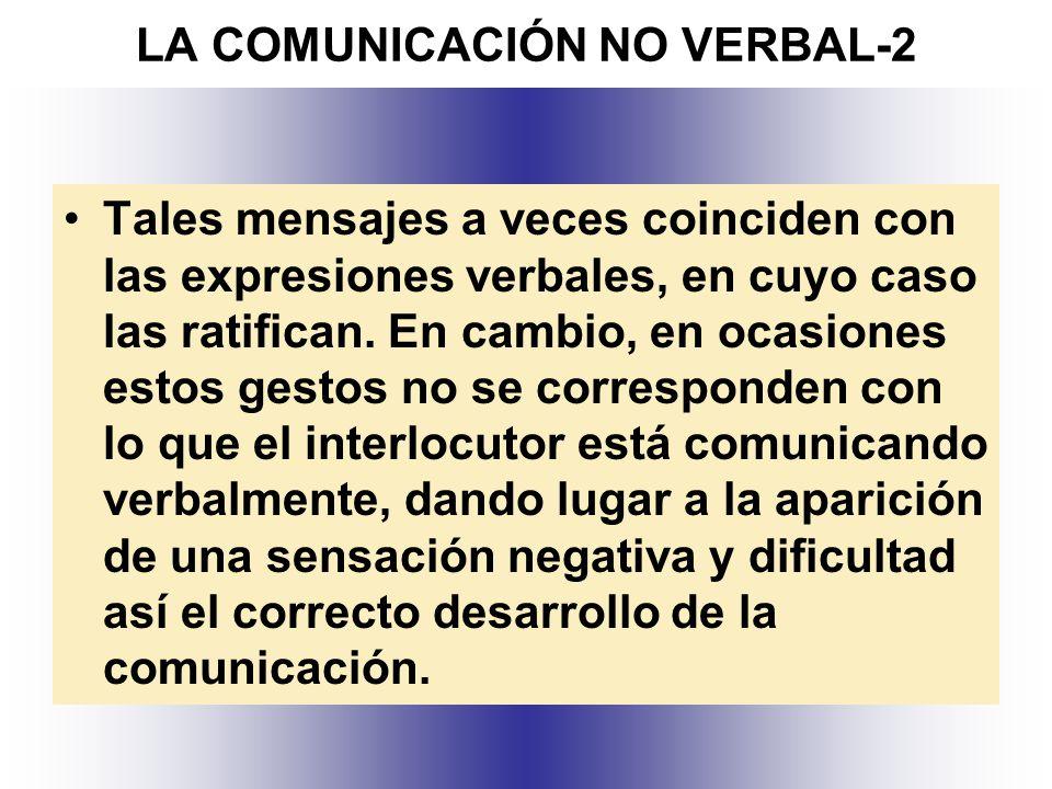LA COMUNICACIÓN NO VERBAL-2