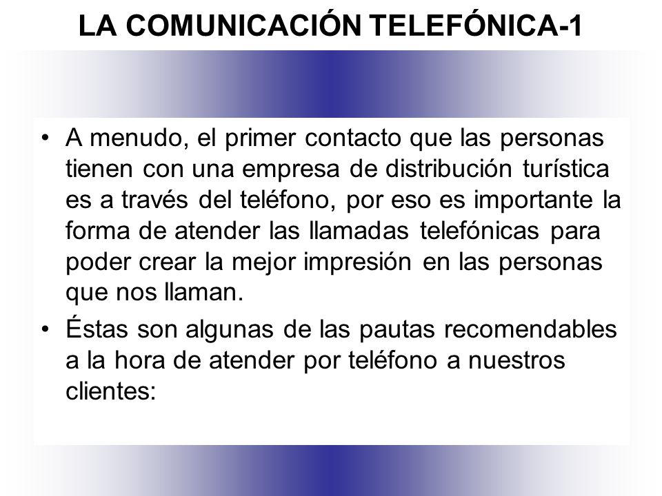 LA COMUNICACIÓN TELEFÓNICA-1