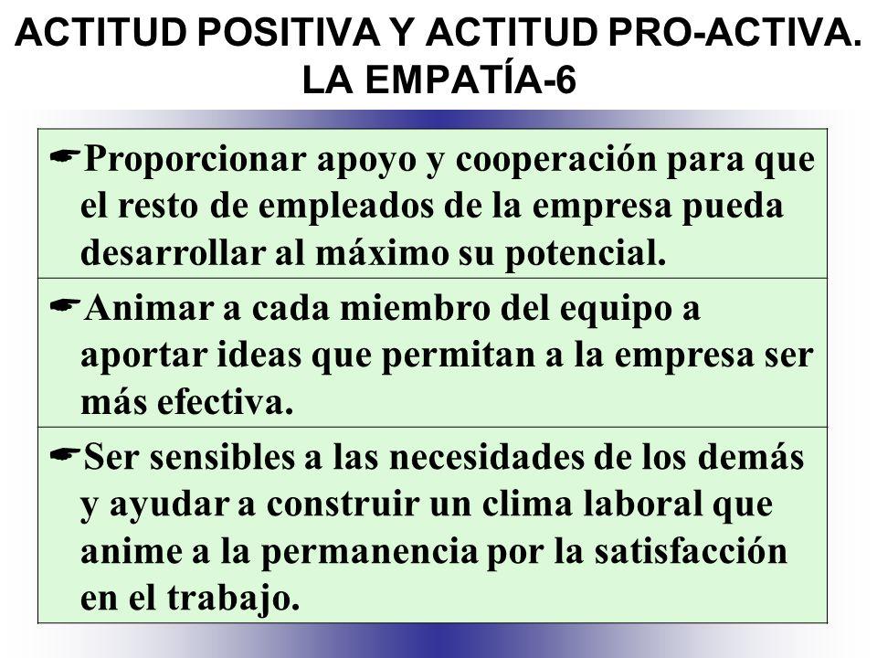ACTITUD POSITIVA Y ACTITUD PRO-ACTIVA. LA EMPATÍA-6