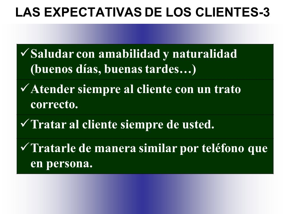 LAS EXPECTATIVAS DE LOS CLIENTES-3