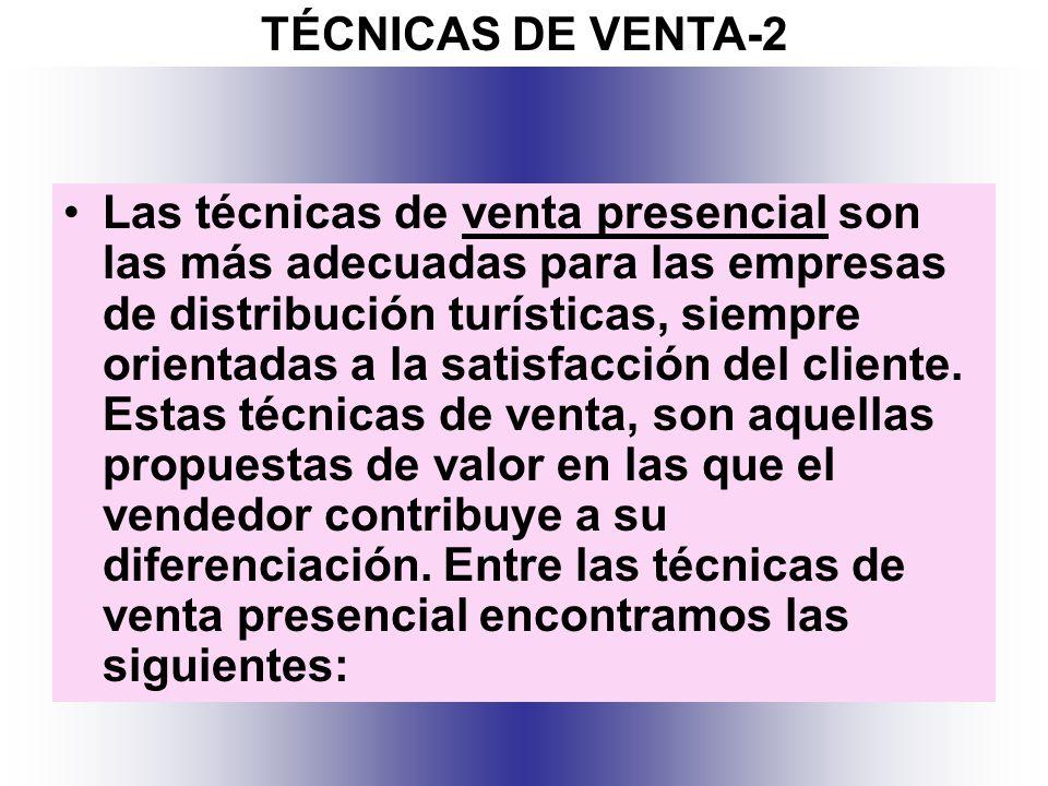 TÉCNICAS DE VENTA-2