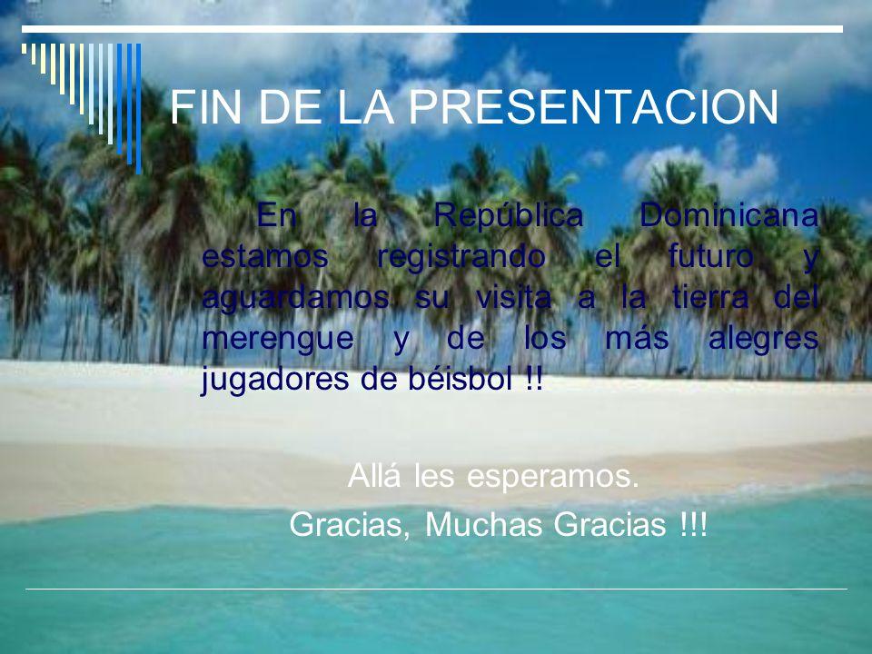 Gracias, Muchas Gracias !!!