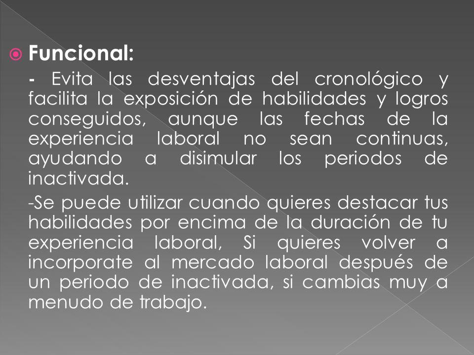 Funcional: