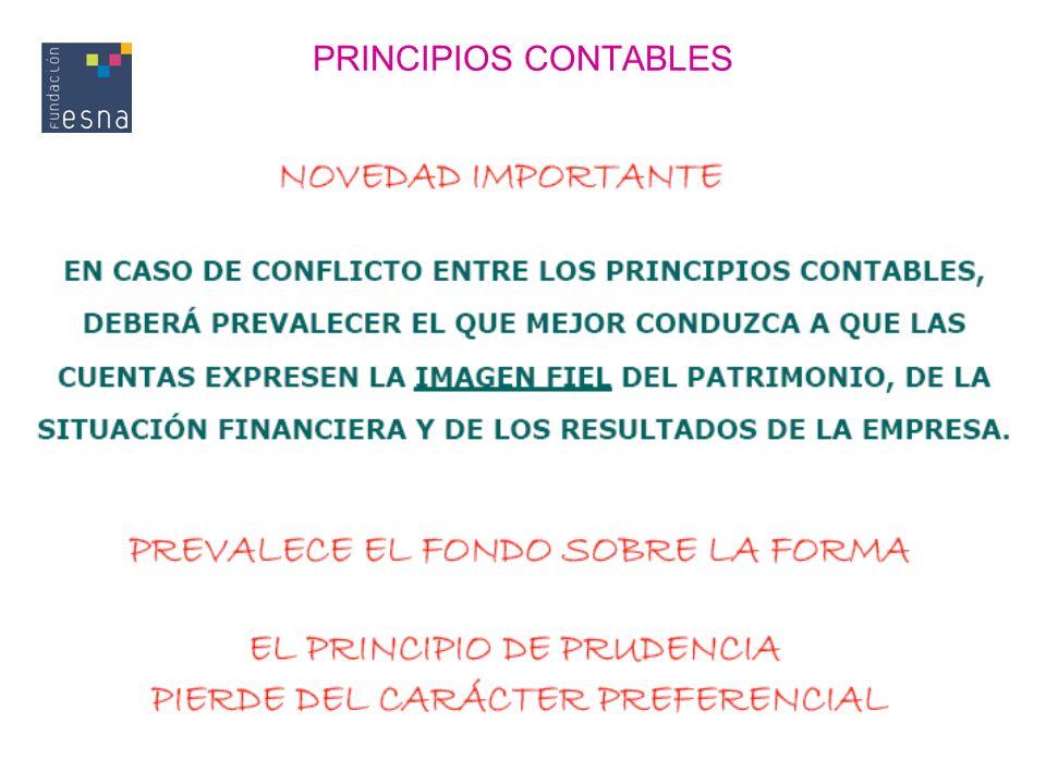 PRINCIPIOS CONTABLES