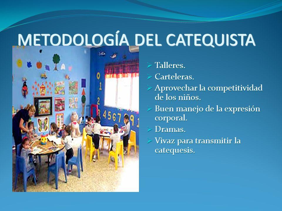 METODOLOGÍA DEL CATEQUISTA