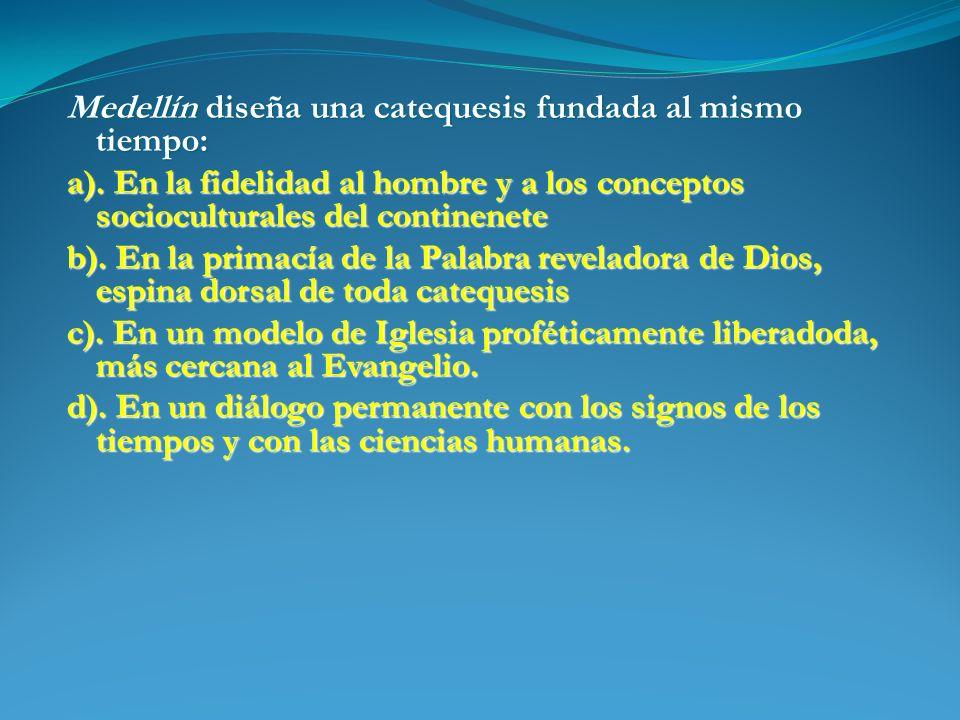 Medellín diseña una catequesis fundada al mismo tiempo: