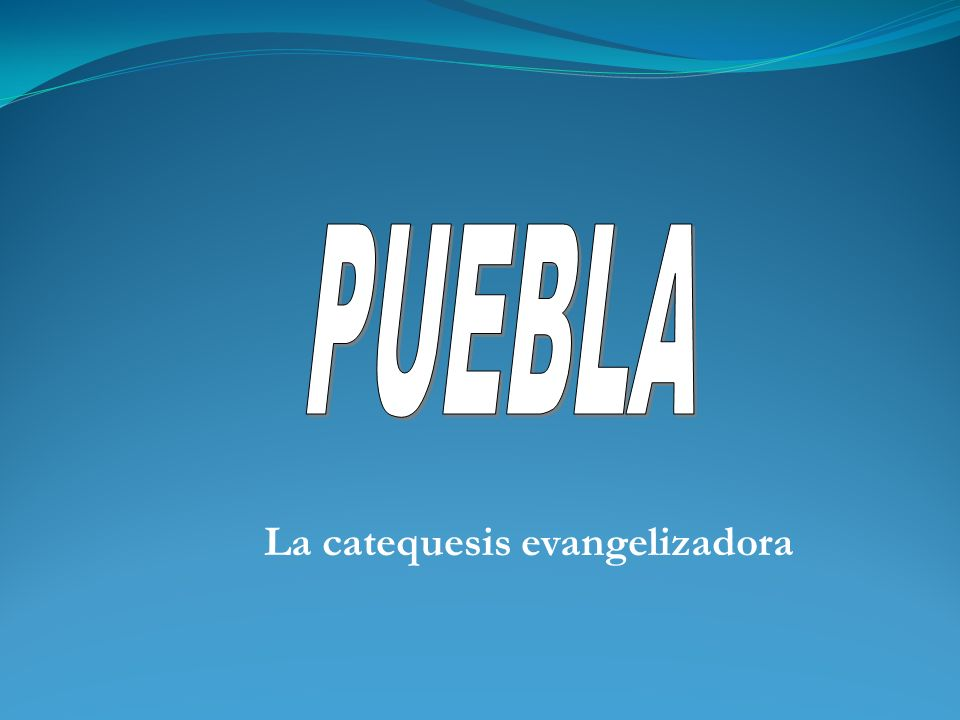 La catequesis evangelizadora