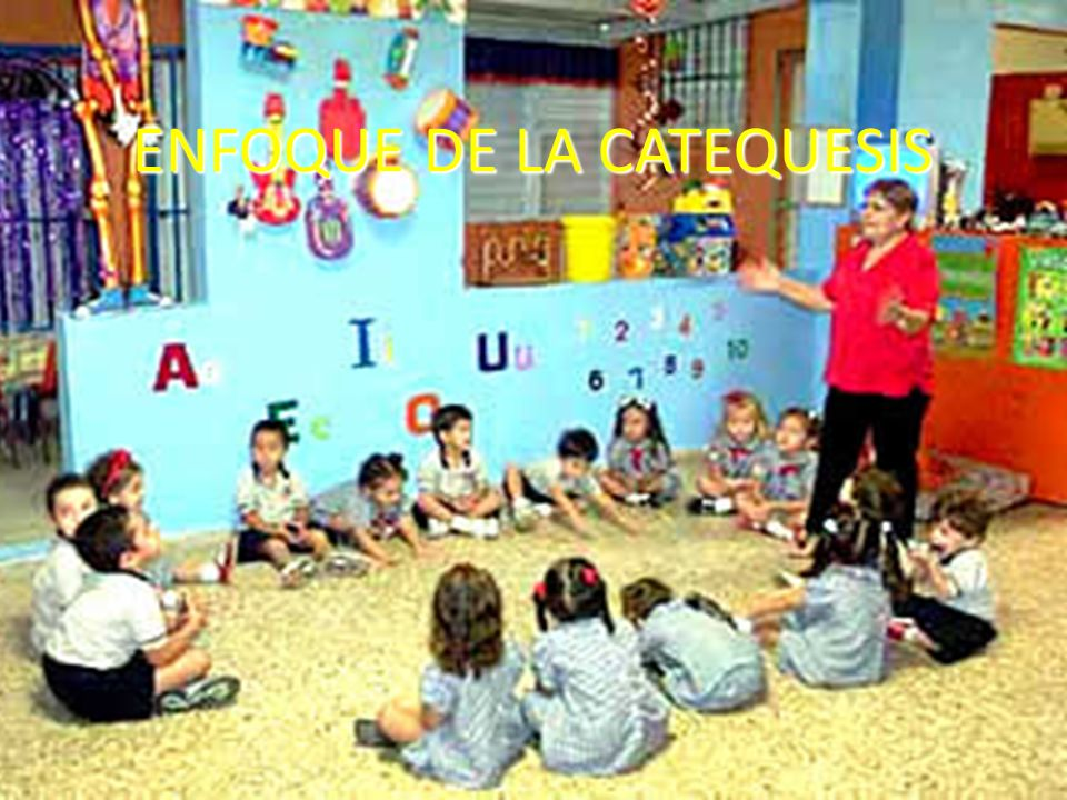 ENFOQUE DE LA CATEQUESIS