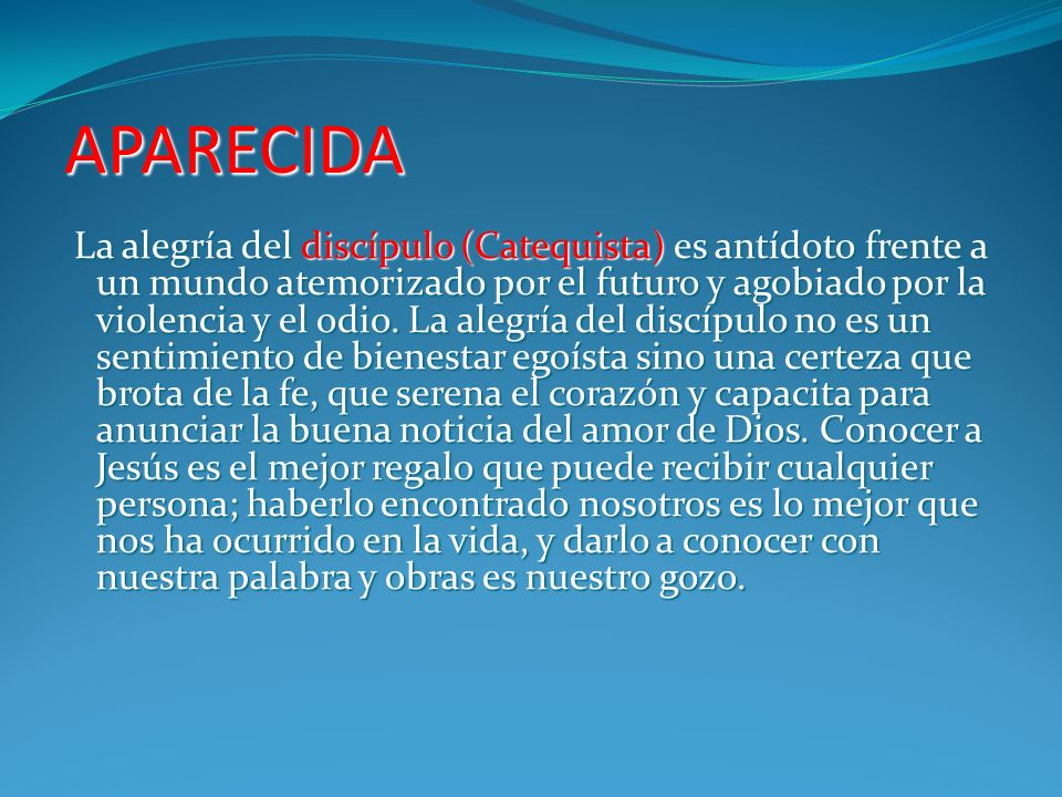 APARECIDA