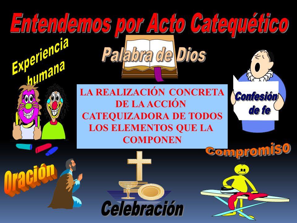 LA REALIZACIÓN CONCRETA CATEQUIZADORA DE TODOS