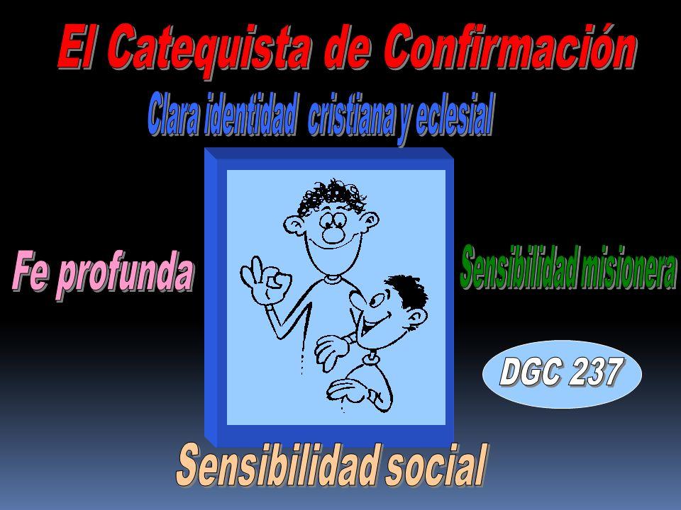 DGC 237 El Catequista de Confirmación