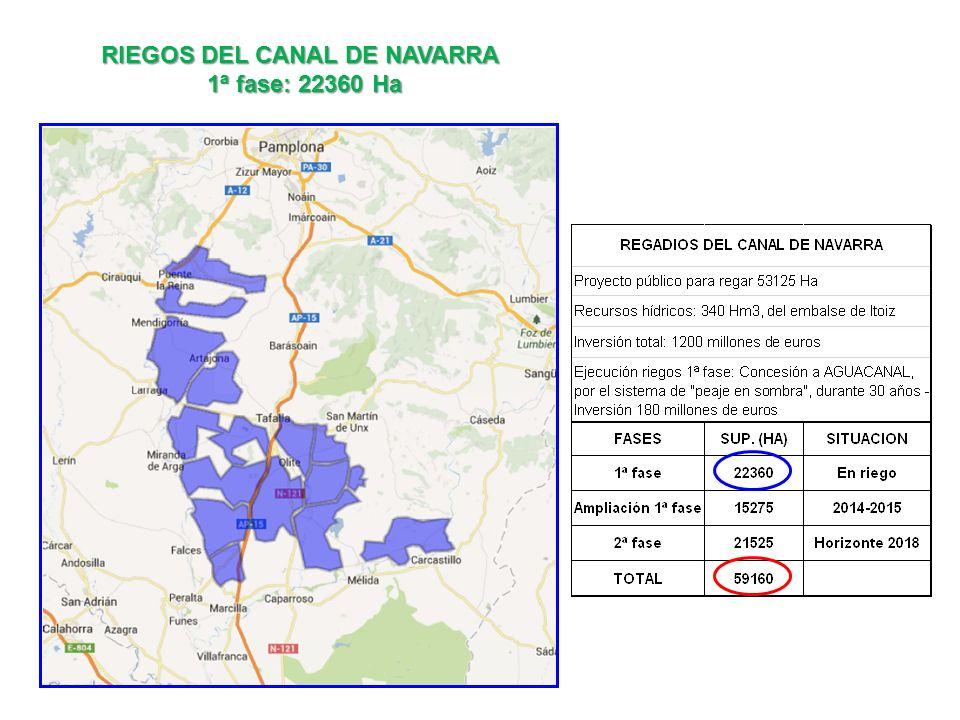 RIEGOS DEL CANAL DE NAVARRA