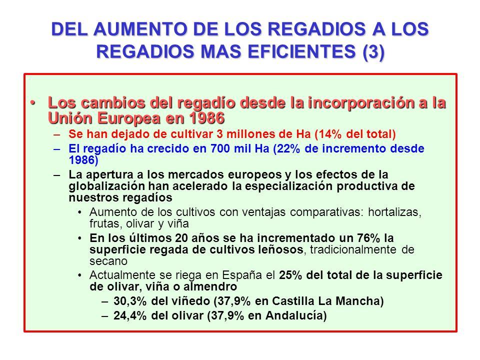 DEL AUMENTO DE LOS REGADIOS A LOS REGADIOS MAS EFICIENTES (3)