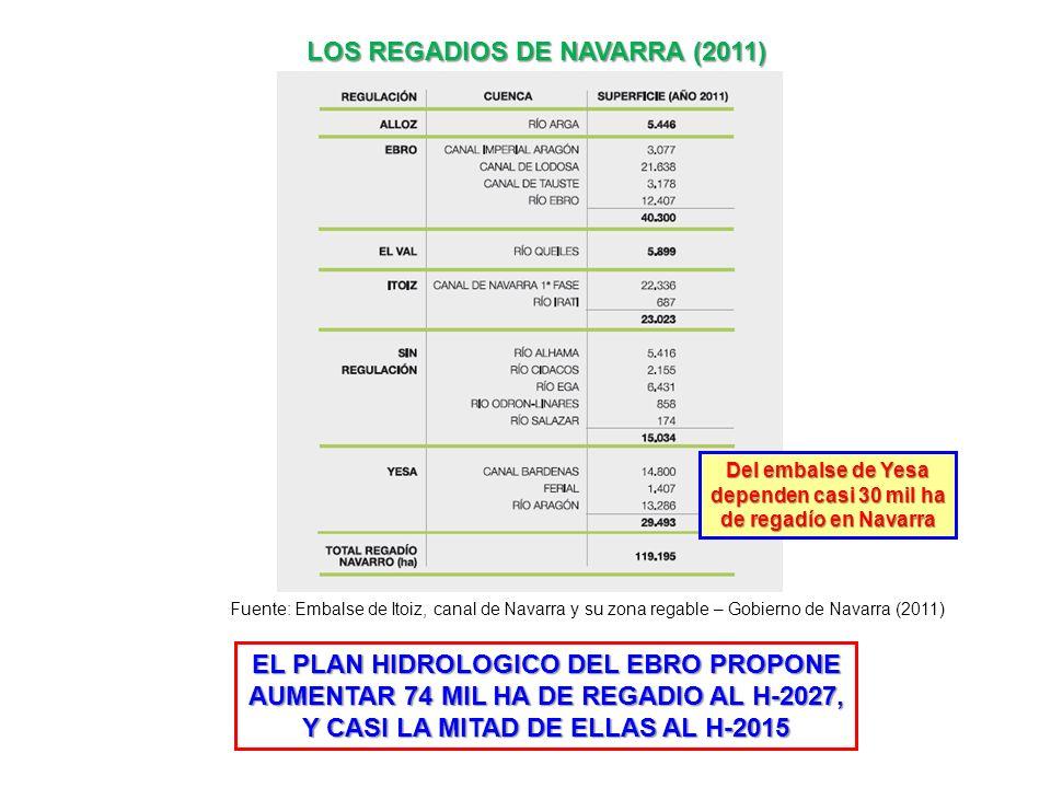 LOS REGADIOS DE NAVARRA (2011)