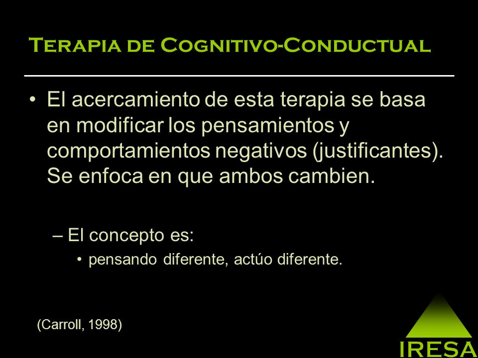 Terapia de Cognitivo-Conductual