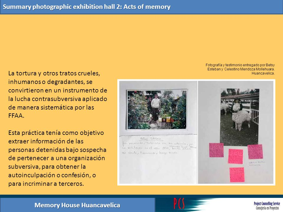 Memory House Huancavelica