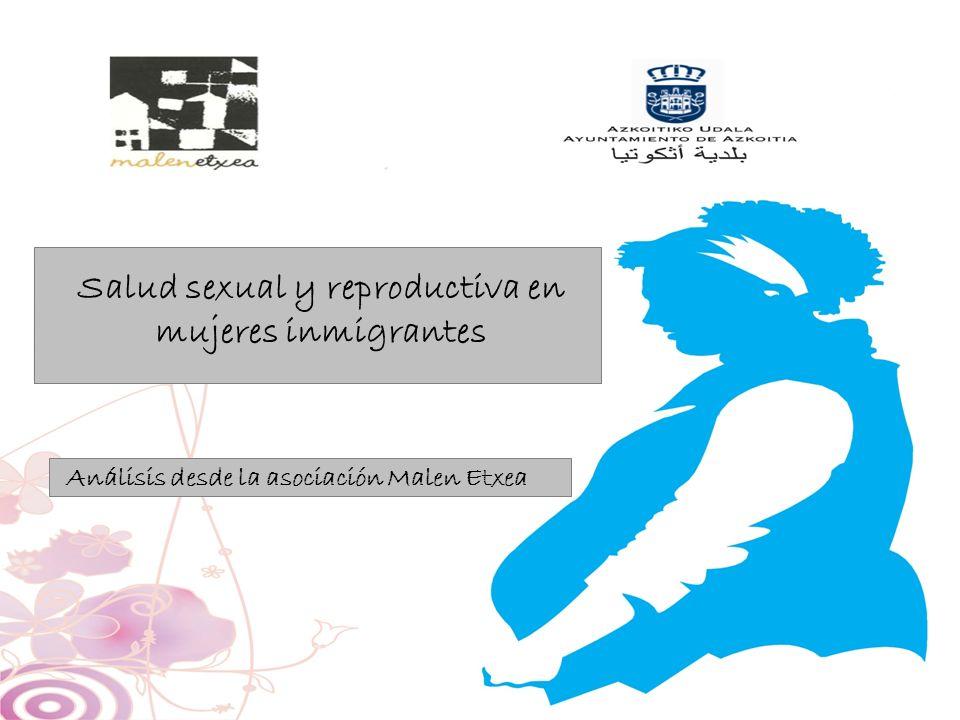 Salud sexual y reproductiva en mujeres inmigrantes