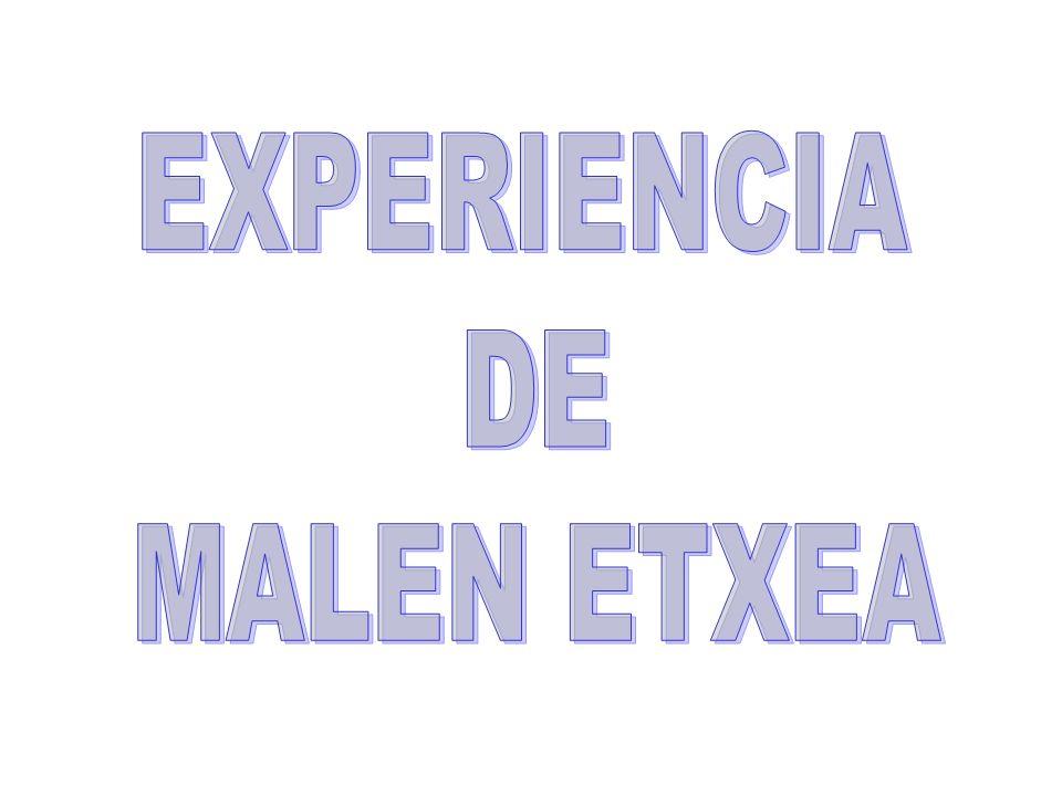 EXPERIENCIA DE MALEN ETXEA