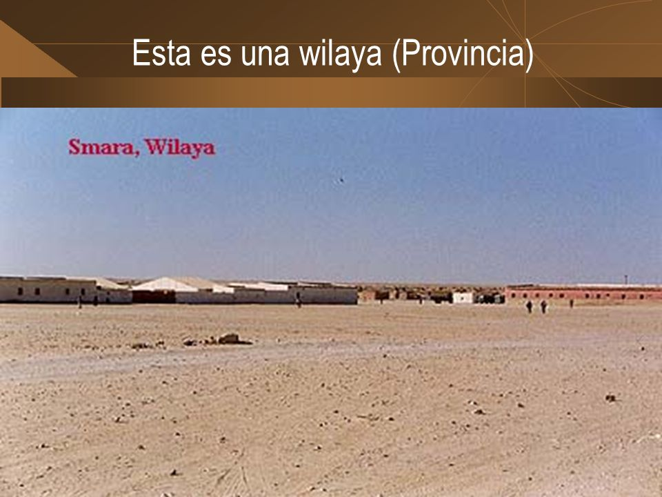 Esta es una wilaya (Provincia)