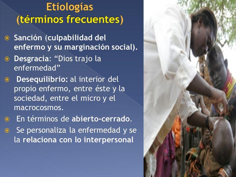 Etiologías (términos frecuentes)