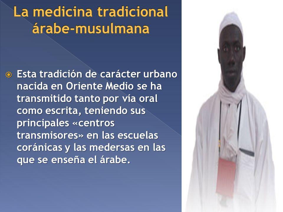 La medicina tradicional árabe-musulmana