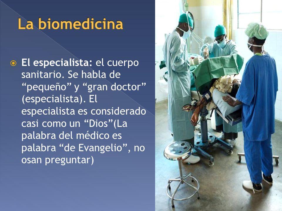 La biomedicina