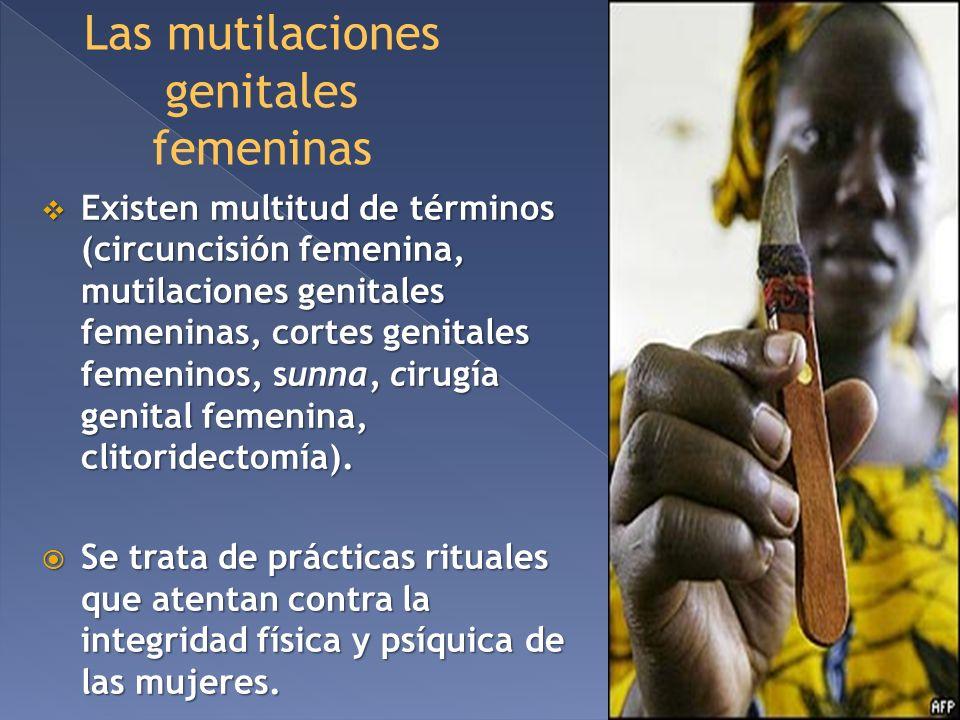 Las mutilaciones genitales femeninas
