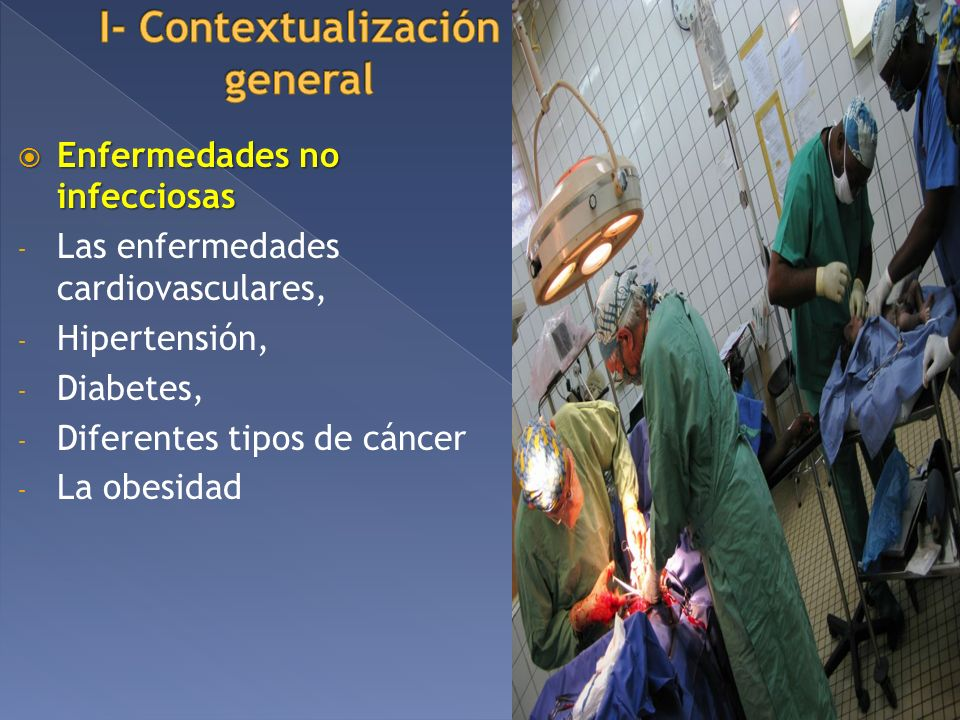 I- Contextualización general