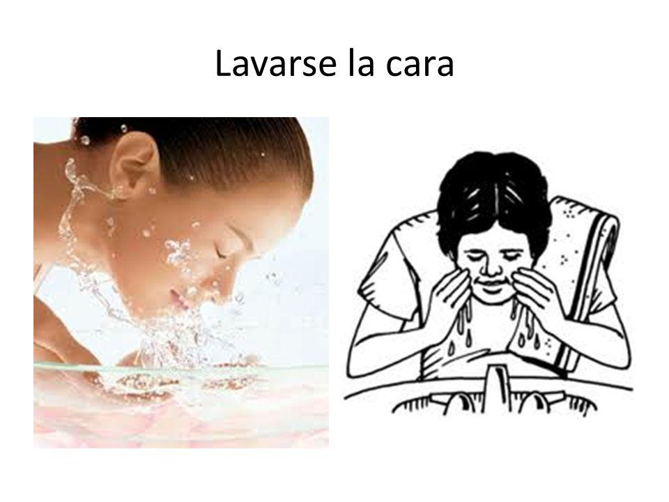 Lavarse la cara