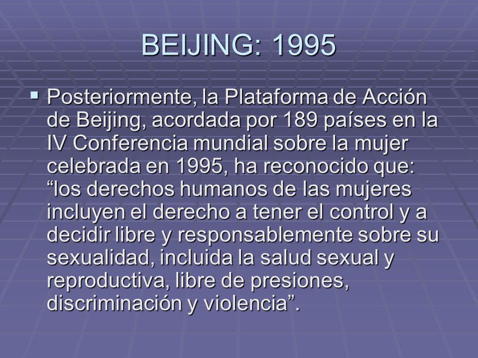 BEIJING: 1995