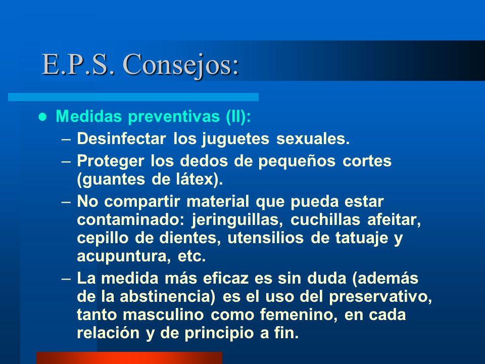 E.P.S. Consejos: Medidas preventivas (II):