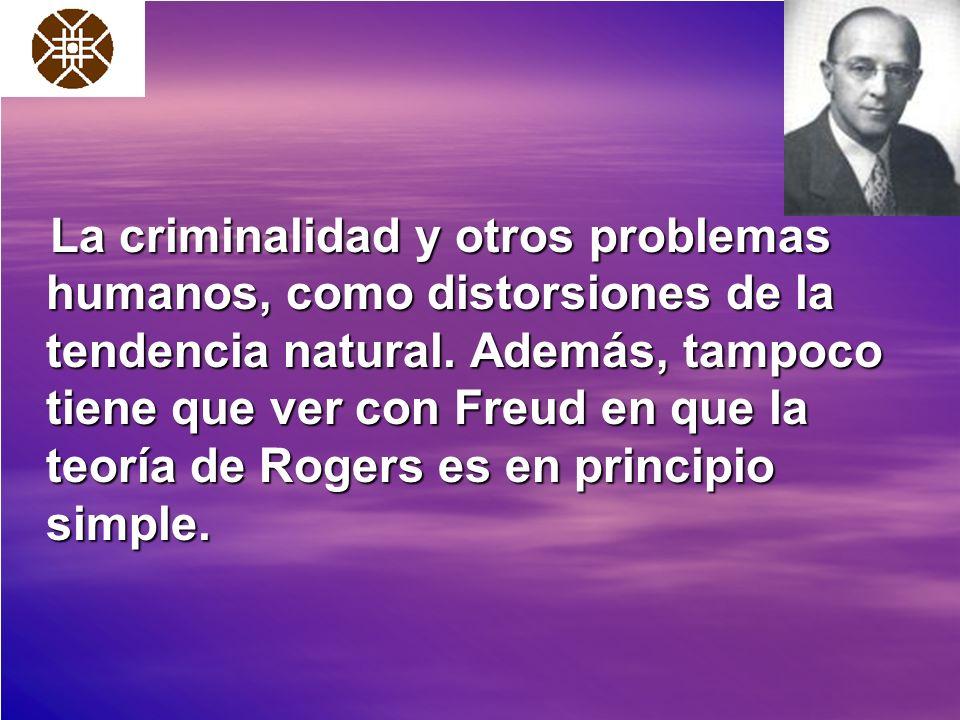 La criminalidad y otros problemas humanos, como distorsiones de la tendencia natural.
