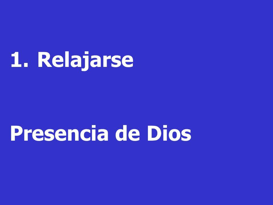 Relajarse Presencia de Dios