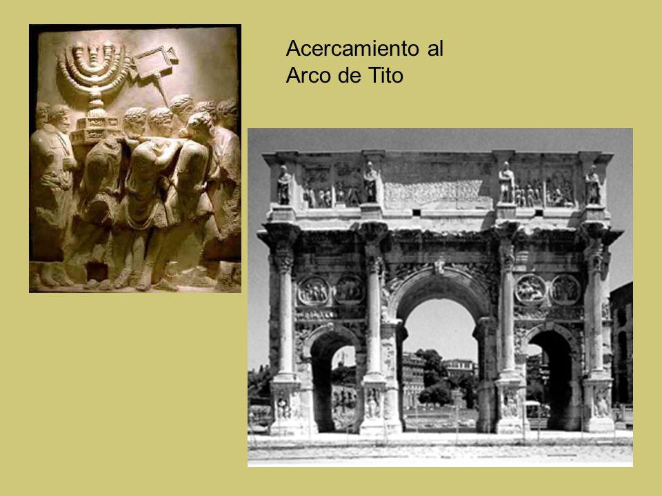 Acercamiento al Arco de Tito