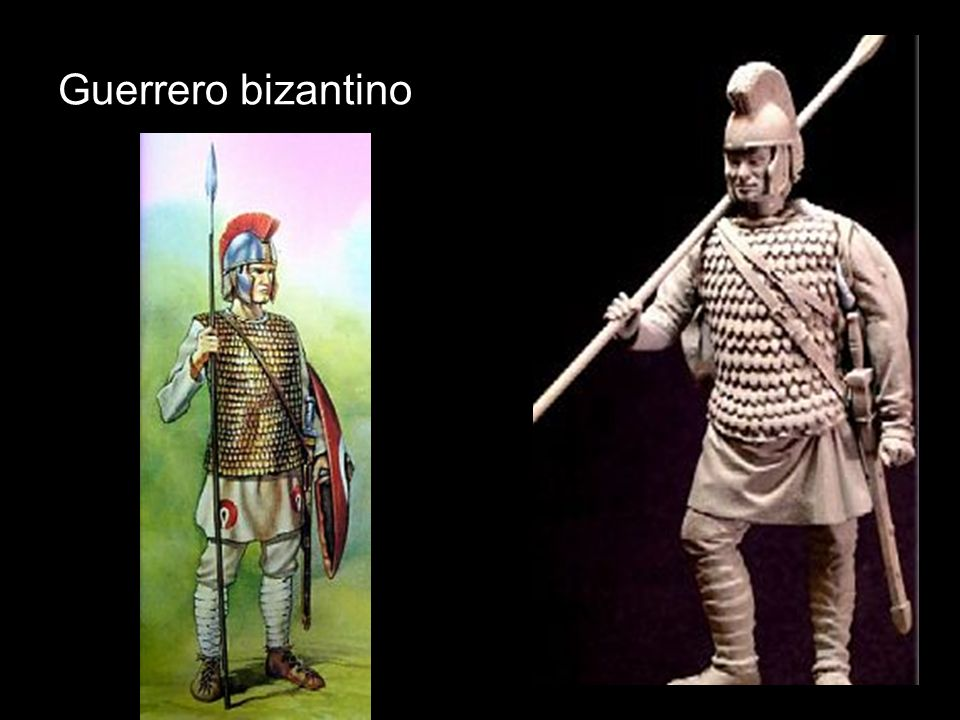 Guerrero bizantino