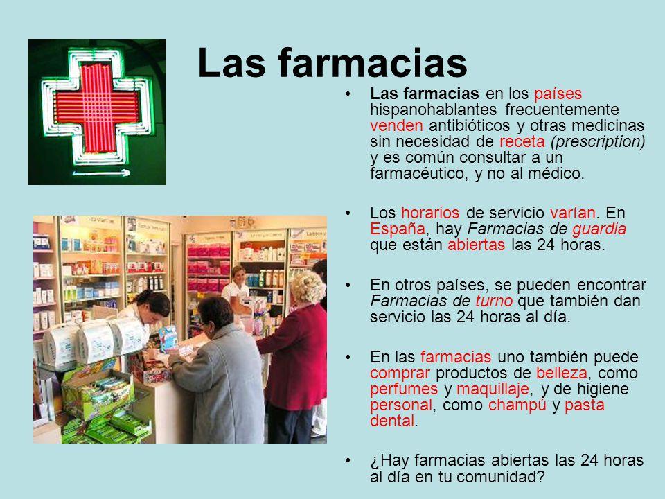 Las farmacias