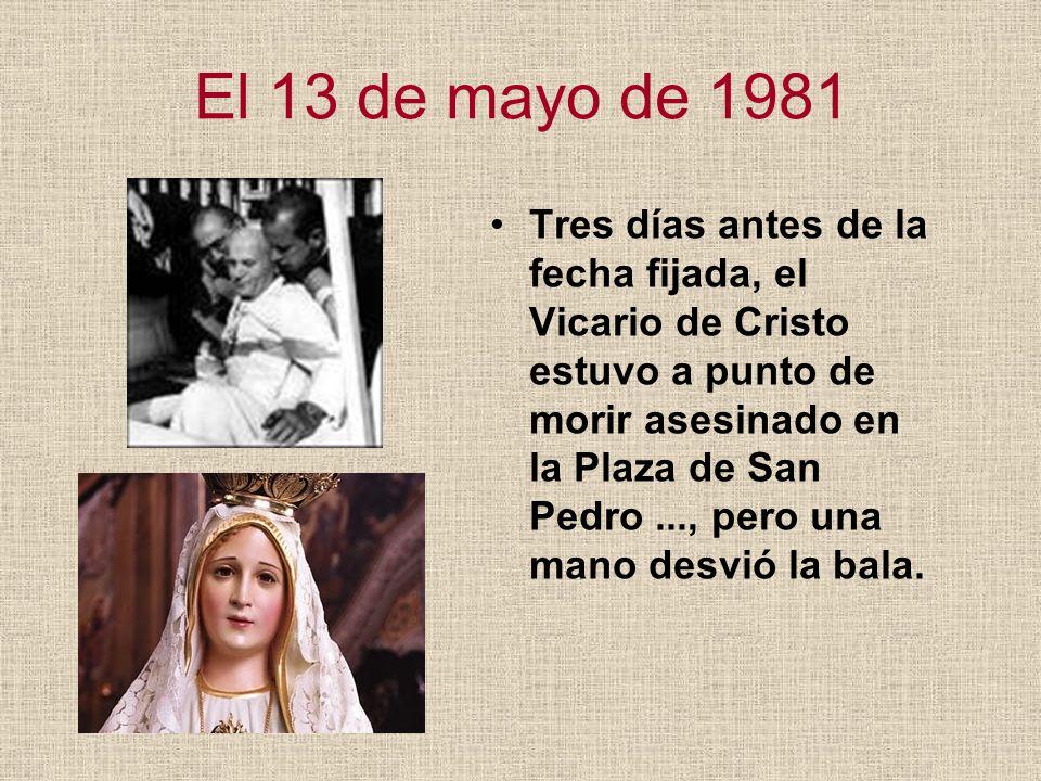 El 13 de mayo de 1981